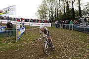 Friday 1st November 2013: Thomas Joseph in action during the Koppenbergcross 2013 junior race. Copyright 2013 Peter Horrell
