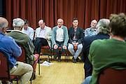 WREN community energy members at their 2015 AGM. Wadebridge, Cornwall. UK