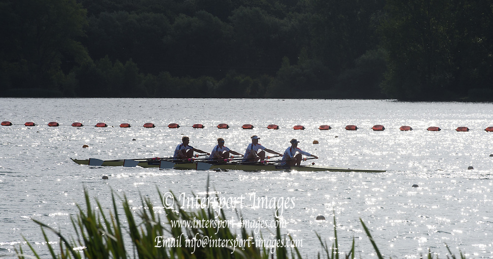 Caversham, England, GBR W4X, Training. 2015 GBRowing World Championship Team Announcement. Tuesday. 21.07.2015.  At the Reading Training Base. [Mandatory Credit. Peter SPURRIER/Intersport Images]