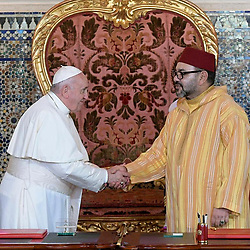 """Pope Francis releases a photo on Instagram with the following caption: """"EN: The courage to encounter one another and extend a hand of friendship is a pathway of peace and harmony for humanity. \nPT: A coragem do encontro e da m\u00e3o estendida \u00e9 um caminho de paz e de harmonia para a humanidade. \nES: La valent\u00eda del encuentro y de la mano tendida son un camino de paz y de armon\u00eda para la humanidad. \nIT: Il coraggio dell\u2019incontro e della mano tesa sono una via di pace e di armonia per l\u2019umanit\u00e0. \nFR: Le courage de la rencontre et de la main tendue est un chemin de paix et d\u2019harmonie pour l\u2019humanit\u00e9. \nDE: Der Mut, einander zu begegnen und die H\u00e4nde zu reichen, ist ein Weg des Friedens und der Harmonie f\u00fcr die Menschheit. \nPL: Odwaga spotkania i wyci\u0105gni\u0119tej r\u0119ki jest drog\u0105 pokoju i zgody dla ludzko\u015bci.\n#apostolicjourney\n #Viaggioapostolico\n#viagemapost\u00f3lica\n#VoyageApostolique\n#ViajeApost\u00f3lico"""". Photo Credit: Instagram *** No USA Distribution *** For Editorial Use Only *** Not to be Published in Books or Photo Books ***  Please note: Fees charged by the agency are for the agency's services only, and do not, nor are they intended to, convey to the user any ownership of Copyright or License in the material. The agency does not claim any ownership including but not limited to Copyright or License in the attached material. By publishing this material you expressly agree to indemnify and to hold the agency and its directors, shareholders and employees harmless from any loss, claims, damages, demands, expenses (including legal fees), or any causes of action or allegation against the agency arising out of or connected in any way with publication of the material."""