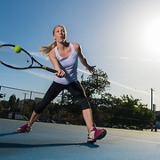 Tennis Life: Zuzana Zemenova.  Lifestyle photoshoot with tennis player, Zuzana Zemenova in Echo Park, California on March 12th, 2016.  ©Michael Der, All Rights Reserved.  Please contact Michael Der for all licensing requests.