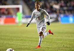 February 27, 2019 - Chester, PA, U.S. - CHESTER, PA - FEBRUARY 27: Japan Defender Saori Ariyoshi (6) chases the ball in the first half during the She Believes Cup game between Japan and the United States on February 27, 2019 at Talen Energy Stadium in Chester, PA. (Photo by Kyle Ross/Icon Sportswire) (Credit Image: © Kyle Ross/Icon SMI via ZUMA Press)