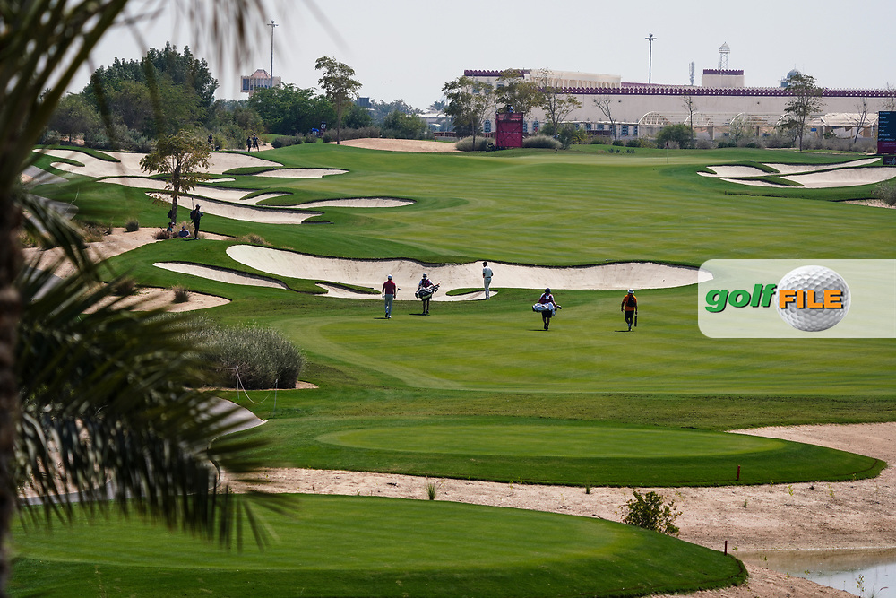 Looking down the 6th during Round 2 of the Commercial Bank Qatar Masters 2020 at the Education City Golf Club, Doha, Qatar . 06/03/2020<br /> Picture: Golffile   Thos Caffrey<br /> <br /> <br /> All photo usage must carry mandatory copyright credit (© Golffile   Thos Caffrey)