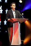 South Carolina State Senator Tom Davis ( R) speaking at the Ron Paul Rally in Tampa