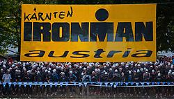 03.07.2011, Ironman Austria, Klagenfurt, Kaernten, im Bild kurz vor dem Start, EXPA Pictures © 2011, PhotoCredit: EXPA/ M. Kuhnke