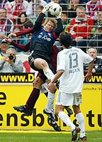 v.l. Vratislav Lokvenc, Oliver Kahn, Michael Ballack FCB<br /> Bundesliga 1. FC Kaiserslautern - FC Bayern Munchen<br /> 784A4633