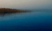 Lake Garda is near the cty of Simione, Italy. Touristy in the summer, a visit in winter yields in true beauty.