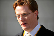 © Licensed to London News Pictures. 21/09/2011. BIRMINGHAM, UK.    Danny Alexander at the Liberal Democrat Conference at the Birmingham ICC today (21 Sept 2011): Stephen Simpson/LNP . Photo credit : Stephen Simpson/LNP