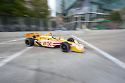 September 1-3, 2011. Ryan Hunter-Reay, Indycar Grand Prix of Baltimore around the inner harbor.