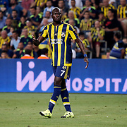 Fenerbahce's Sow during their UEFA Champions league third qualifying round first leg soccer match Fenerbahce between Shakhtar Donetsk at the Sukru Saracaoglu stadium in Istanbul Turkey on Tuesday 28 July 2015. Photo by Aykut AKICI/TURKPIX