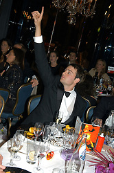 MR BEN GOLDSMITH  at the Chain of Hope Autumn Ball Fiesta held at The Dorchester, Park Lane, London on 6th October 2004.