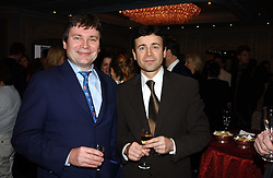 Left to right, restauranteur brothers DIDIER GARNIER and ERIC GARNIER at the Tatler Restaurant Awards in association with Champagne Louis Roederer held at the Four Seasons Hotel, Hamilton Place, London W1 on 10th January 2005.<br /><br /><br />NON EXCLUSIVE - WORLD RIGHTS
