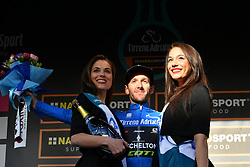 March 15, 2019 - Foligno, Perugia, Italia - Foto Gian Mattia D'Alberto / LaPresse.15/03/2019 Foligno (Italia) .Sport Ciclismo.Tirreno-Adriatico 2019 - edizione 54 - da Pomarance a Foligno  (226 km) .Nella foto:  Adam Yates GBR, maglia azzurra..Photo Gian Mattia D'Alberto / LaPresse .March 15, 2018 Foligno (Italy).Sport Cycling.Tirreno-Adriatico 2019 - edition 54 - Pomarance to Foligno (140 miglia) .In the pic:  Adam Yates GBR, blue jersey (Credit Image: © Gian Mattia D'Alberto/Lapresse via ZUMA Press)