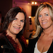 NLD/Amsterdam/20121013- LAF Fair 2012 VIP Night, Monique Olgers en Barbara Wagner