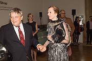 SIR NORMAN ROSENTHAL; ALEXANDRA MUNROE Ai Weiwei, Royal Academy, Piccadilly. London.  15 September 2015.