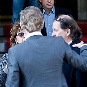 NLD/Amsterdam/20101012 - Herdenkingsdienst overleden Antonie Kamerling, Peter Paul Muller
