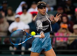 March 8, 2019 - Indian Wells, USA - Amanda Anisimova of the United States in action during her second-round match at the 2019 BNP Paribas Open WTA Premier Mandatory tennis tournament (Credit Image: © AFP7 via ZUMA Wire)