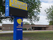 W. S. Holland Middle School photographed April 7, 2013. The school was a recipient of funds from the 2007 Bond.