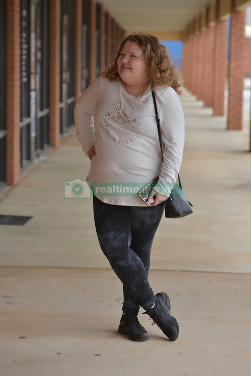 """EXCLUSIVE: June Shannon (Mama June) and her daughters, Alana Thompson (Honey Boo Boo) and Lauryn Shannon (Pumpkin) and her boyfriend, Josh Efird, their 2 month old daughter, Ella Grace Efird, sister JoAnne Shannon (Doe Doe), and niece Amber Busby and other family members raise money for the Children's Hospital of Macon in Hampton, Ga. on February 18, 2018. They had a fan meet and greet at Last Chance Liquidators, Doe Doe's store. They sold raffle tickets for mystery boxes of products, homemade slime, and signed posters of their new television show on the WE network, """"Mama June, From Not to Hot"""". Alana stayed up to 5 a.m to make 450 jars of slime. They are donating half the proceeds and garnering more support on social media for the cause. 18 Feb 2018 Pictured: Honey Boo Boo, 12 years old. June Shannon (Mama June) and her daughters, Alana Thompson (Honey Boo Boo) and Lauryn Shannon (Pumpkin) and her boyfriend, Josh Efird, their 2 month old daughter, Ella Grace Efird, sister JoAnne Shannon (Doe Doe), and niece Amber Busby and other family members raise money for the Children's Hospital of Macon in Hampton, Ga. on February 18, 2018. They had a fan meet and greet at Last Chance Liquidators, Doe Doe's store. They sold raffle tickets for mystery boxes of products, homemade slime, and signed posters of their new television show on the WE network, """"Mama June, From Not to Hot"""". Alana stayed up to 5 a.m to make 450 jars of slime. They are donating half the proceeds and garnering more support on social media for the cause. Photo credit: Dana Mixer / MEGA TheMegaAgency.com +1 888 505 6342"""