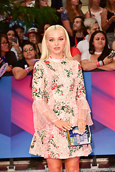 June 18, 2017 - Toronto, Ontario, Canada - DOVE CAMERON arrives at the 2017 iHeartRADIO MuchMusic Video Awards at MuchMusic HQ on June 18, 2017 in Toronto (Credit Image: © Igor Vidyashev via ZUMA Wire)
