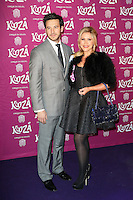 Alex Partakis, Heidi Range, Cirque du Soleil: Kooza - press night, Royal Albert Hall, London UK, 06 January 2015, Photo by Richard Goldschmidt