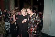 DAME DIANA RIGG, RACHEL STIRLING, Cecil Beaton private view. V and A Museum. London. 6 February 2012