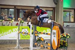 Van Dijck Joppe, BEL, Primeur van de Delthoeve<br /> Nationaal Indoorkampioenschap  <br /> Oud-Heverlee 2020<br /> © Hippo Foto - Dirk Caremans