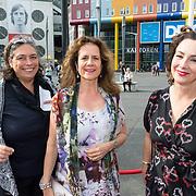NLD/Amsterdam/20180616 - 26ste AmsterdamDiner 2018, Femke Halsema en vriendinnen ..........