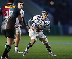 Jake Heenan of Bristol Bears - Mandatory by-line: Matt Impey/JMP - 26/12/2020 - RUGBY - Twickenham Stoop - London, England - Harlequins v Bristol Bears - Gallagher Premiership Rugby