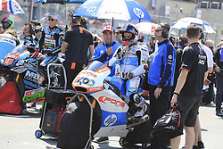May 20, 2018 - Le Mans, France - 40 HECTOR BARBERA (ESP) PONS HP40 (ESP) KALEX MOTO2 (Credit Image: © Panoramic via ZUMA Press)