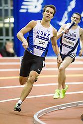 Millrose Games: Duke wins college mens 4x800 m relay