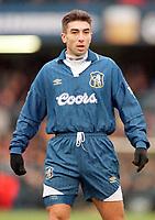 Fotball<br /> England<br /> Foto: Colorsport/Digitalsport<br /> NORWAY ONLY<br /> <br /> Chelsea historikk<br /> ROBERTO DI MATTEO (CHE). CHELSEA V LIVERPOOL, 01/01/1997.