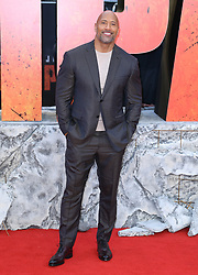 Dwayne Johnson attending the European premiere of Rampage, held at the Cineworld in Leicester Square, London. Photo credit should read: Doug Peters/EMPICS Entertainment