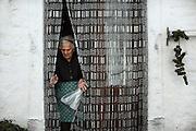 Luisa, contadina 90enne, Orsara di Puglia 3 Maggio 2014.  Christian Mantuano / OneShot