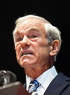 Ron Paul at the Ron Paul Rally in Tampa Florida held the day before RNC.