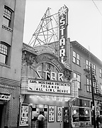 Y-540618-6. Star Theatre. NW 6th between Burnside & Couch,  June 18, 1954