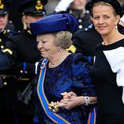 NLD/Amsterdam/20130430 - Inhuldiging Koning Willem - Alexander, princess Beatrix and sister in law princess Mabel Wisse Smit