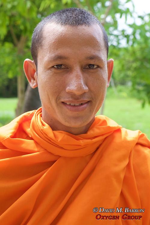 Monk At Choeung Ek