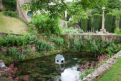 Pond at Snowshill Manor