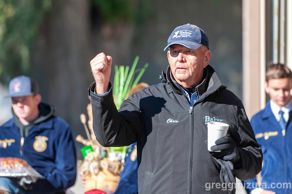Chirs. Vale FFA Harvest Auction in Vale, Oregon on October 12, 2019.<br /> <br /> Baker Auction Co. has been the auctioneers for this event since it started 27 years ago.
