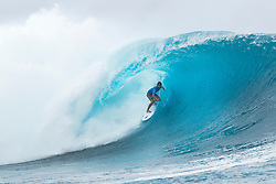 Rookie Connor O'Leary of Australia advanced directly to Round Three of the Outerknown Fiji Pro after winning Heat 10 of Round One in excellent Cloudbreak conditions.