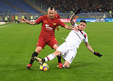 AS Roma v Cagliari Calcio - 16 DEc 2017