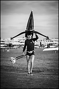Sarasota. Florida USA. CAN LM1X. Aaron  LATTIMER, General View, Boat Park at the World Rowing Championships, Nathan Benderson Park<br /> <br /> Monday  25.09.17   <br /> <br /> [Mandatory Credit. Peter SPURRIER/Intersport Images].<br /> <br /> <br /> NIKON CORPORATION -  NIKON D4S  lens  AF 85mm f/1.4G mm. 200 ISO 1/4000/sec. f 1.4