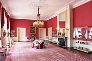Paleis Noordeinde en Koninklijke Stallen open voor het publiek.  ////  Noordeinde Palace and Royal Stables open to the public.<br /> <br /> Op de foto / On the photo:  Ontvangstkamer / reception Room