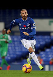 Everton's Cenk Tosun during the SportPesa Trophy match at Goodison Park, Liverpool. PRESS ASSOCIATION Photo. Picture date: Tuesday November 6, 2018. See PA story SOCCER Everton. Photo credit should read: Richard Sellers/PA Wire