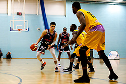 Tevin Falzon of Bristol Flyers - Photo mandatory by-line: Robbie Stephenson/JMP - 10/04/2019 - BASKETBALL - UEL Sports Dock - London, England - London Lions v Bristol Flyers - British Basketball League Championship