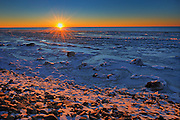 Sunset on Lake Winnipeg<br /> 