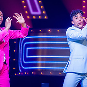 NLD/Amsterdam/20171117 - Muziekfeest Let's Dance 2017, Humberto Tan en Timor Steffens