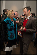 MAYA HIRST; TOM DIXON, Private view, Paul Simonon- Wot no Bike, ICA Nash and Brandon Rooms, London. 20 January 2015