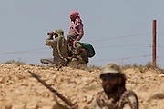 Mcc0030300 . Daily Telegraph..Rebel forces close to the frontline near the oil town of Brega..Brega 5 April 2011